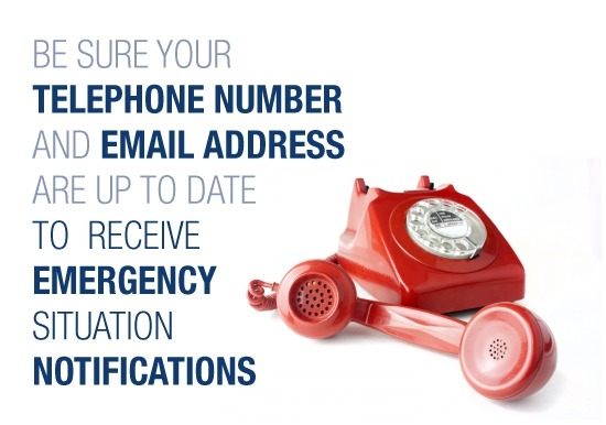 update emergency info red phone